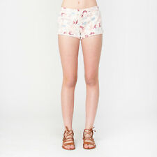 2016 NWT WOMENS ELEMENT TRIP SHORTS $35 M multi floral relaxed fleece short