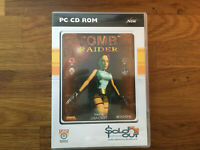 TOMB RAIDER PC  CD ROM. BY SOLD OUT... FREEPOST  NEXT DAY DISPATCH