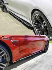 CARKING 15+ CARBON FIBER BMW F82 M4 DTM STYLE SIDE SKIRTS EXTENSION