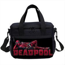Marvel Deadpool Kids School Backpack Cooler Lunch Bag Pen Case Lot Shoulder Bags