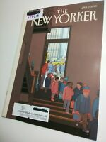 The New Yorker Magazine [1/7/13] Art World The Birth of the Abstract [Near Mint]
