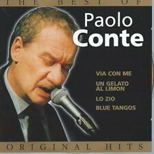 CD album THE BEST of PAOLO CONTE - THE ORIGINAL HITS - BELGICA 17