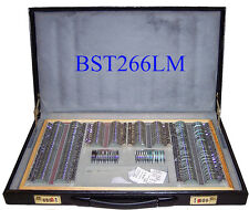 266 Pcs Optical Trial Lens Set Metal Rim Leather Case - High quality - Brand New