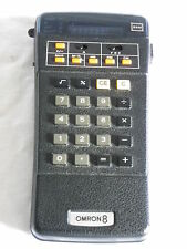 Taschenrechner calculator Omron 8 TYPE 88 M 70er Jahre Rechner
