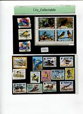 20 PCS BIRDS USED STAMPS # S331