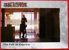 BATTLESTAR GALACTICA - Premiere Edition - Card #22 - The Fall of Caprica