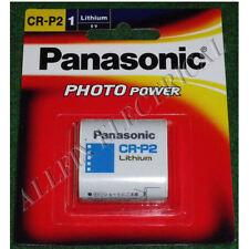 Panasonic 6Volt Lithium Photographic Camera Battery - Part # CR-P2