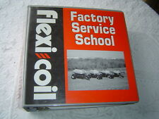 1998 Flexi Coil service school training manual 50 50 air seeder field sprayers