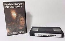 Raven Shoot Interview www.ShootingStarVideo.co.uk VHS Video Cassette Wrestling