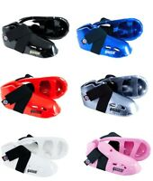 ProForce Lightning Kicks Karate Sparring Shoes Child Youth Adult Foot Pads