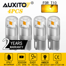 Canbus 168 192 194 T10 2825 Led Front Side Marker Sidemarker Light Bulbs Amber Fits Rsx