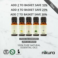 10ml Essential Oils 100% Pure & Natural (Aromatherapy) Nikura Fragrance