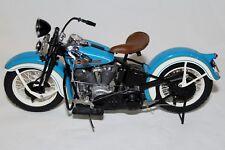 Franklin Mint LE 1936 Harley Davidson EL KNUCKLEHEAD 1:10 DIECAST Motorcycle