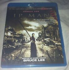 Ip Man Blu-ray 2008/2010 Donnie Yen Bruce Lee Martial Arts Well Go USA Chinese