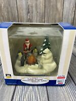 Lemax Lighted Table Accent Village Collection Santa Polar Bear Penguin Fishing