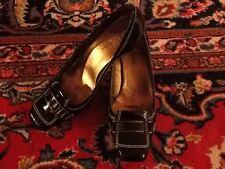Gorgeous Cole Haan Brown Patent Leather Pump 8M EUC