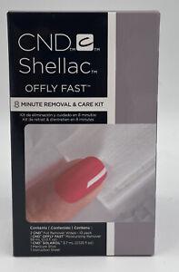 CND Shellac Gel Nail Polish Remover Kit Full Essential Offley Fast Solar Oil