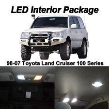 13 x White SMD LED Interior Light Package For 1998-2007 Toyota Land Cruiser J100