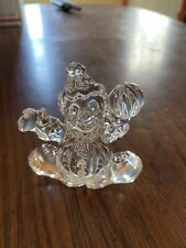 """Collectible Crystal  Small Clown Figurine 3""""x3"""" Weigh 6 oz"""