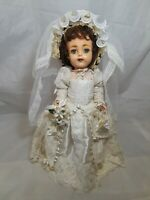 """Vintage Ideal Saucy Walker Doll 17"""" Tall"""