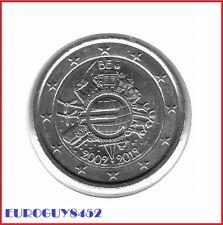 BELGIE - 2 € COM. 2012 UNC - 10 JAAR EURO