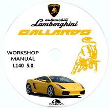 Lamborghini GALLARDO L140 5.0L,manuale officina