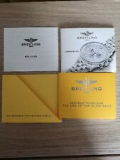 Breitling Operating Instructions Navitimer Cosmonaute II