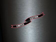 1 x Aufkleber Limited Edition Schleier Sticker Tuning Autoaufkleber Shocker Fun