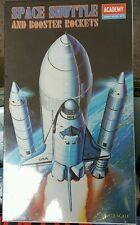 Academy Space Shuttle & Booster Rockets Model Kit No. 1639 1/288 1990 Korea