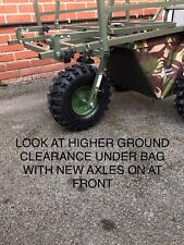 Prestige Carp Porter BigboyMake Your Barrow Higher Deluxe Axle Suspension Kit