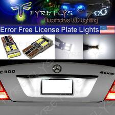 6000k Xenon White 18 LED - 3014 SMD Error Free LED License Plate Lights #X7