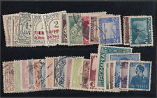 ROMANIA 1893-1940 INCL. POSTAGE DUE 33 USED STAMPS.