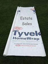 Tyvek Homewrap Tarp Tent Footprint Ground Sheet Cloth Cover Kite f/ 5 ft. Roll
