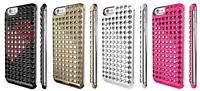 Lucien SWAROVSKI Elements Luxury Bling Glitter Chrome case cover For iPhone 6/6s