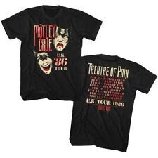 New MOTLEY CRUE Photo Glam Hair Metal Rock Music Band Licensed Concert T-Shirt Z