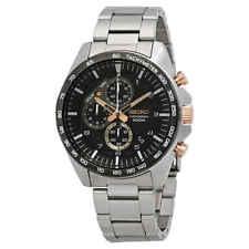 Seiko Motorsport Chronograph Black Dial Men's Watch SSB323P1