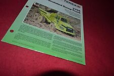 Terex 2766 Articulated Dump Truck Dealer's Brochure DCPA6