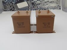 10x MBGP-2  CAPACITOR( 10uF 10%, 400V )-  NOS Made in USSR МБГП-2