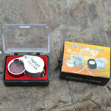 2018 New Style 30X 21mm Folding Jeweler Loupe Magnifier Hand Lens Glass Gift