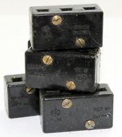 Lot of 5 off 3 way terminal blocks, 5C/449 (GA7)