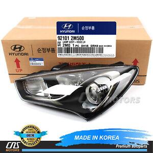 GENUINE Halogen Headlight LEFT for 2013-2016 Hyundai Genesis Coupe 921012M500