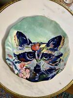 "ANTHROPOLOGIE Dusk 8"" STARLA M HALFMANN Decorative Plate"