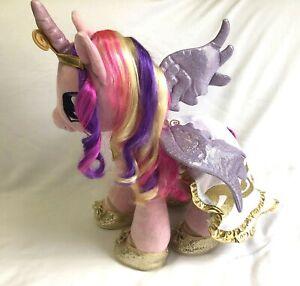 """Cadance Build A Bear My Little Pony Cadence Plush 17"""" RARE Crown Cape Necklace"""
