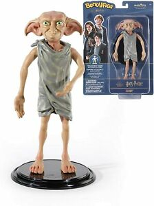 Dobby Bendable Poseable Figure by The Noble Collection 19cm Tall Harry Potter
