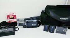 Sony Handycam HDR-H1 HDV Camcorder MiniDV NightShot  remote control video camera