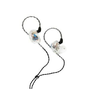 Stagg SPM-435 TR High Resolution 4-Driver Sound Isolating In-Ear Earphones Clear