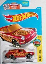 Hot Wheels Custom '69 Volkswagen Squareback  #192 HW Art Cars #2 of #10 Red HTF