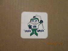 "Nhl Vancouver Canucks Vintage 1973-74 ""Chuck Canuck"" Team Logo Sticker"
