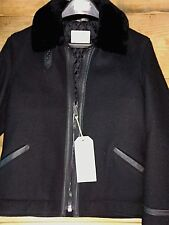 Schott NYC Perfecto  Brand Wool And leather jacket. Made in usa #P-7422 NWT RARE