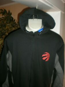 NWT TORONTO RAPTORS UNDER ARMOUR COMBINE GEAR FULL ZIP HOODED SWEAT JACKET 3XL